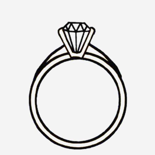 500x500 Elegant Cartoon Diamond Ring