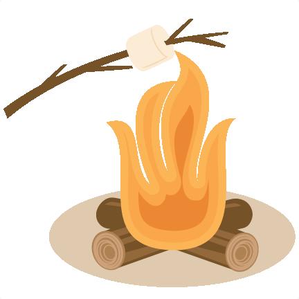 432x432 Bonfire Clipart Marshmallow