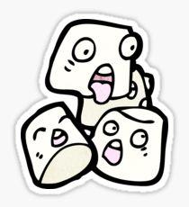 210x230 Cartoon Marshmallows Stickers Redbubble
