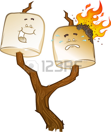 379x450 Marshmallow, Roasting, Fire Icon Vector Image. Can Also Be Used