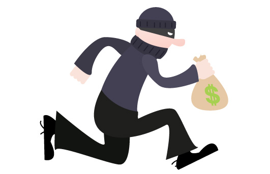 Cartoon Robber Clipart