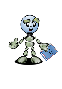 Cartoon Robot Clipart
