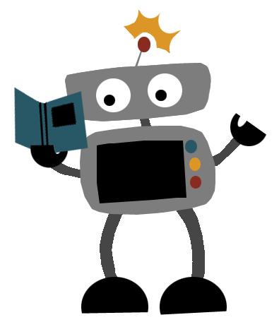 395x463 Graphics For Robot Cartoon Clip Art Graphics