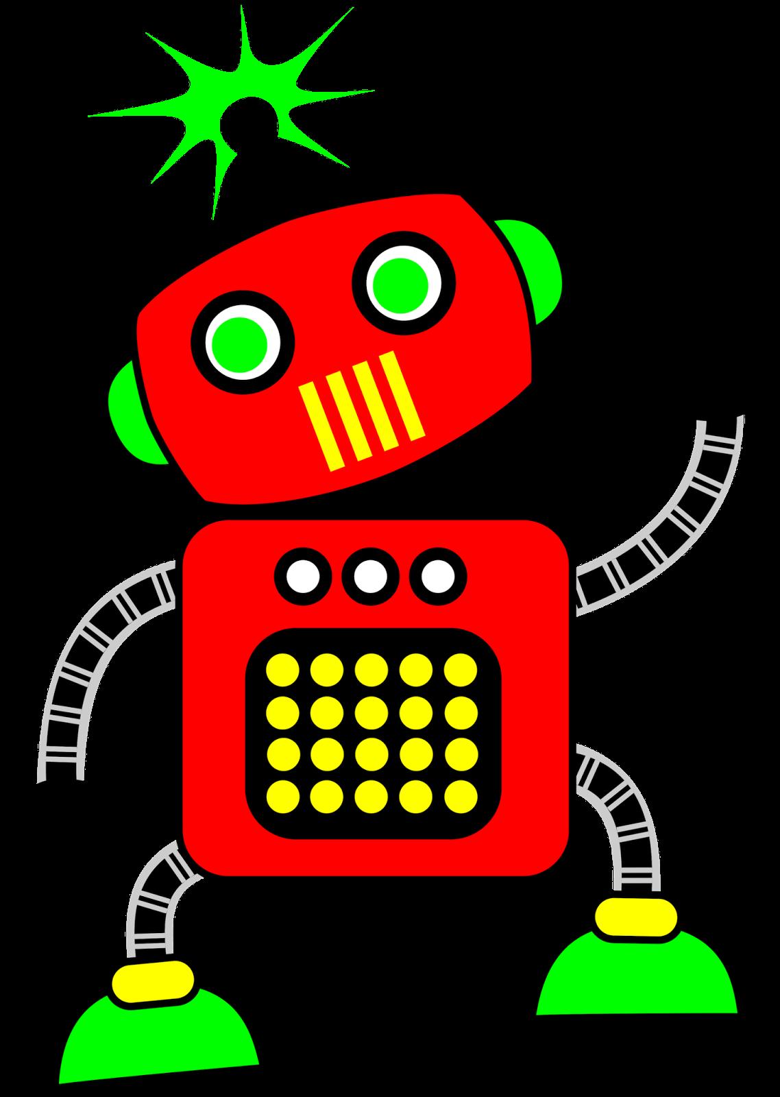 1138x1600 Robot Clipart