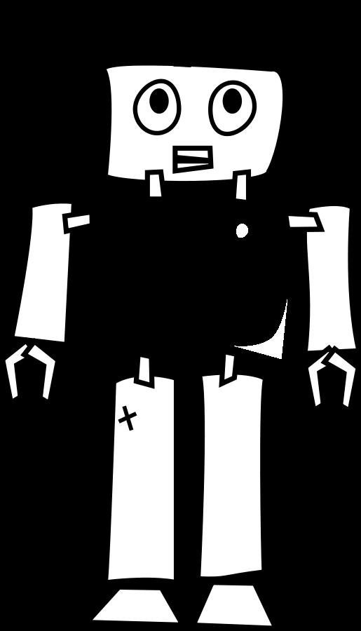 515x900 Robot Line Art Png Clip Arts For Web