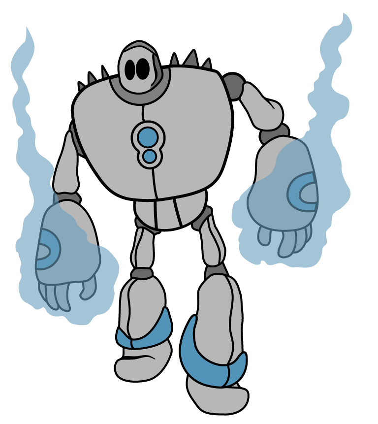 768x861 Robot Clipart Animated