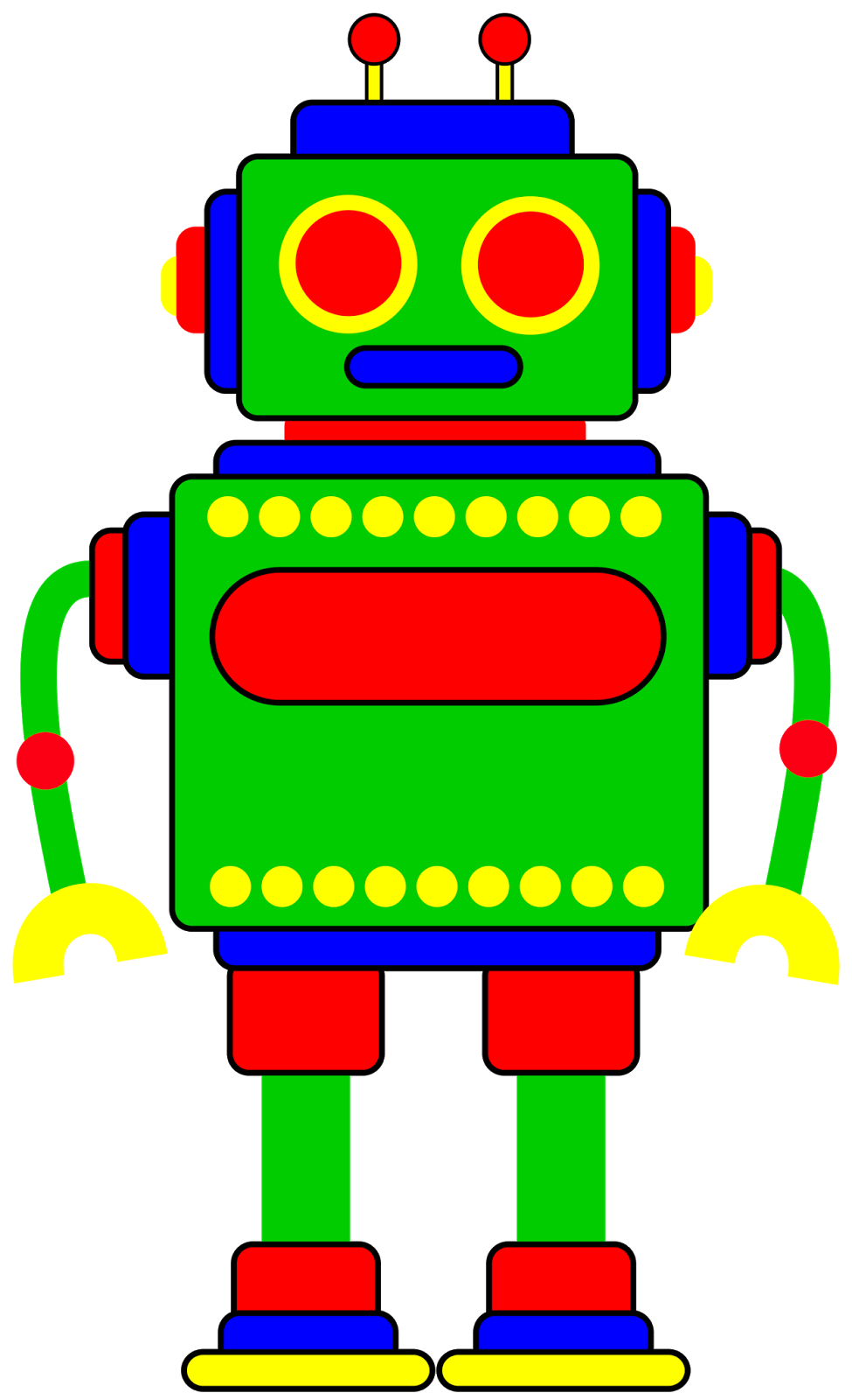 975x1600 Robot Clipart For Your Project Or Classroom. Description