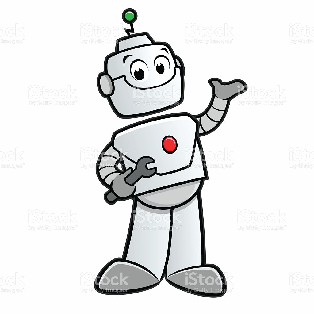 Cartoon Robot Clipart | Free download on ClipArtMag