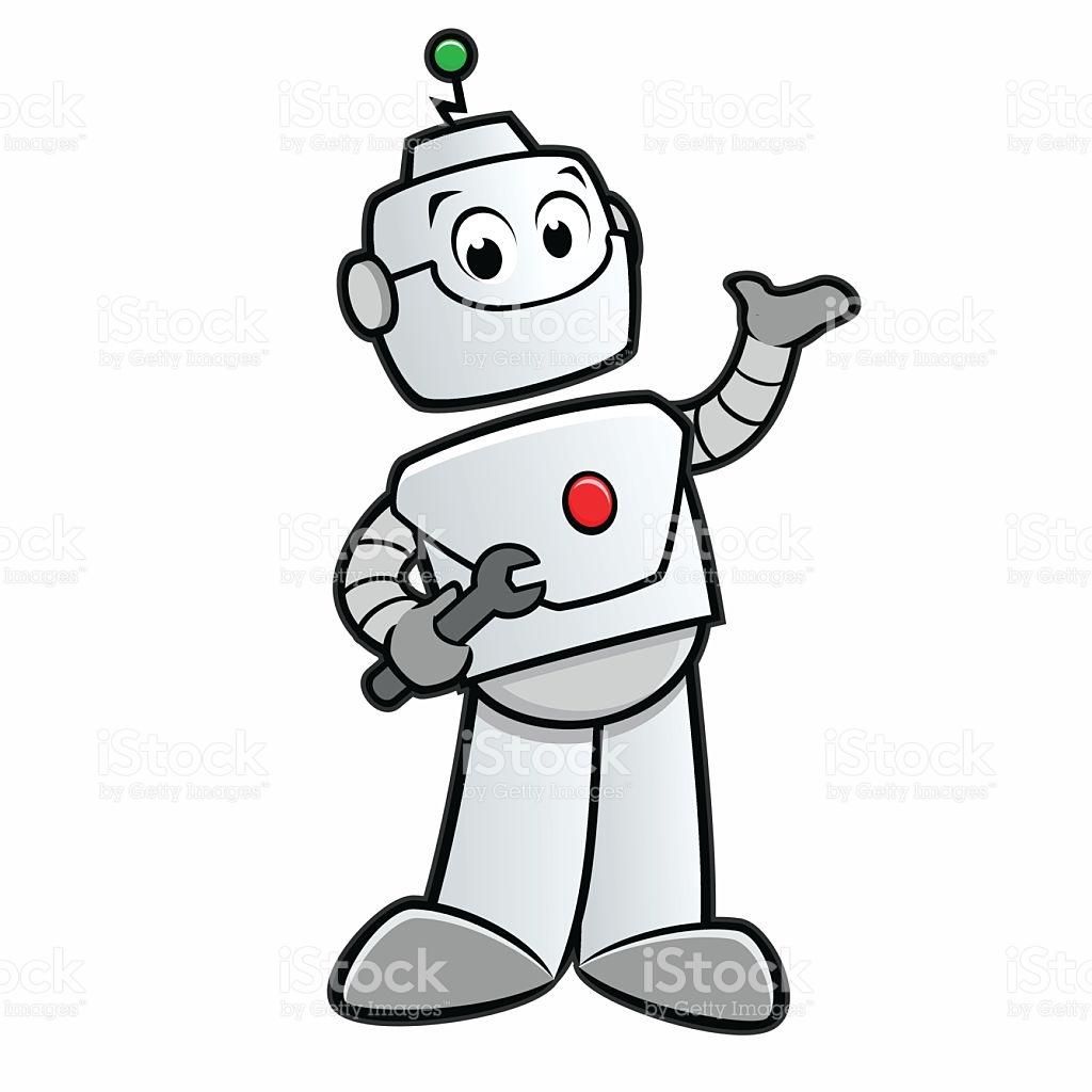 1024x1024 Robot Clipart Happy