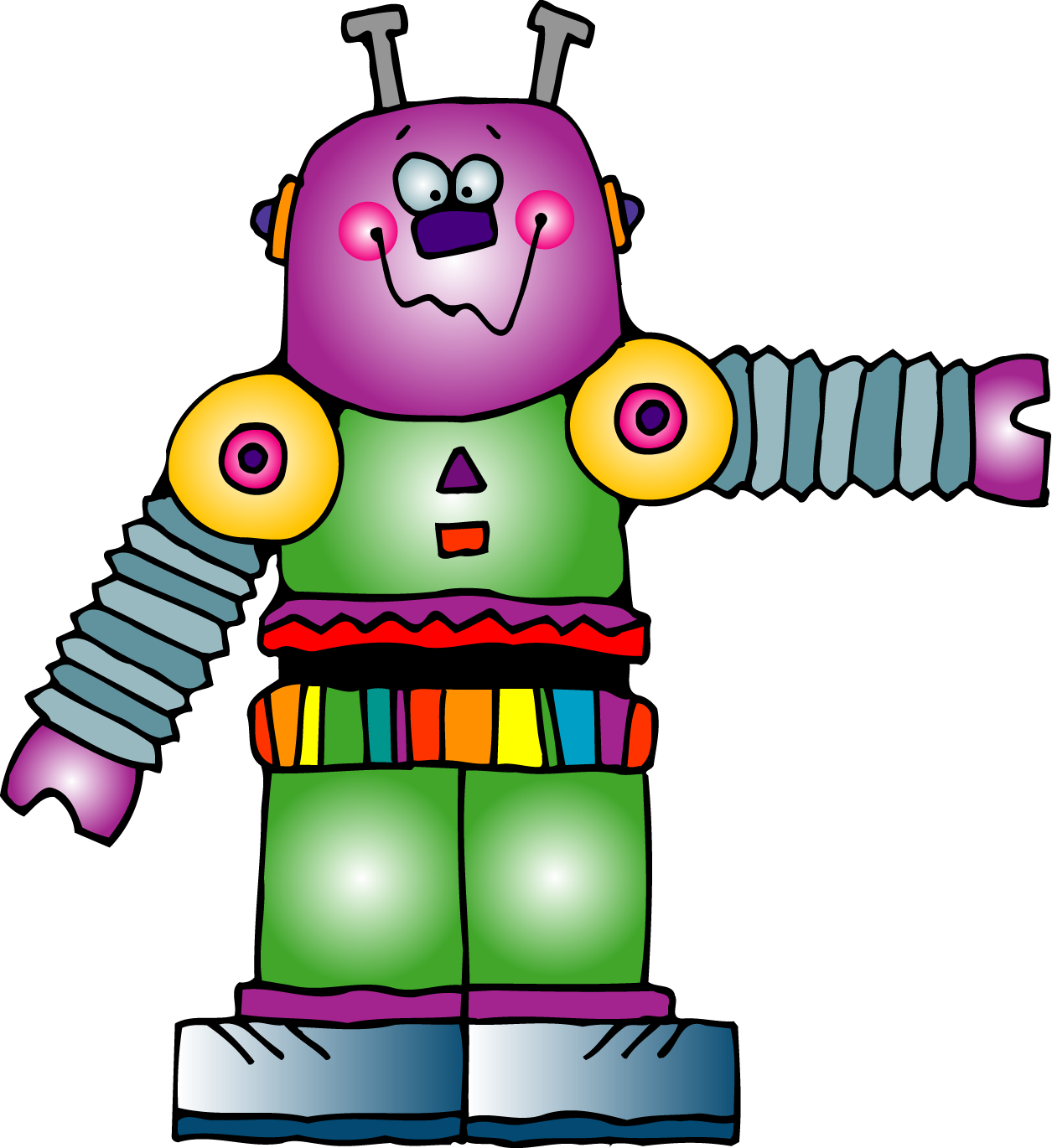 1255x1370 Robot Clipart Toy