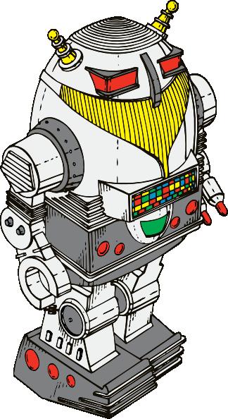 324x594 Toy Robot Clip Art