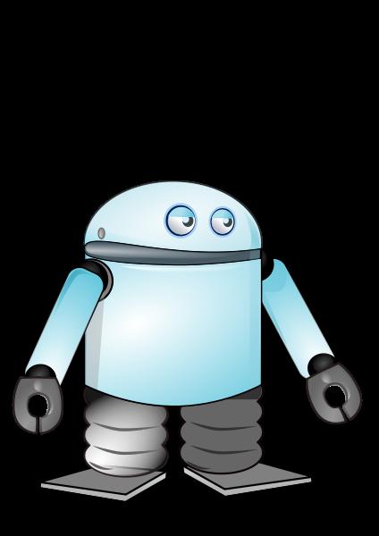 424x600 Cartoon Robot Png Clip Arts For Web