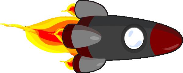 Cartoon Rocket Ship Clipart