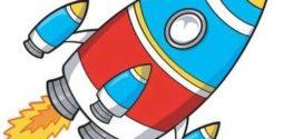 272x125 Free Cartoon Rocket Ship Clip Art Free Rocket Clipart Free Rocket