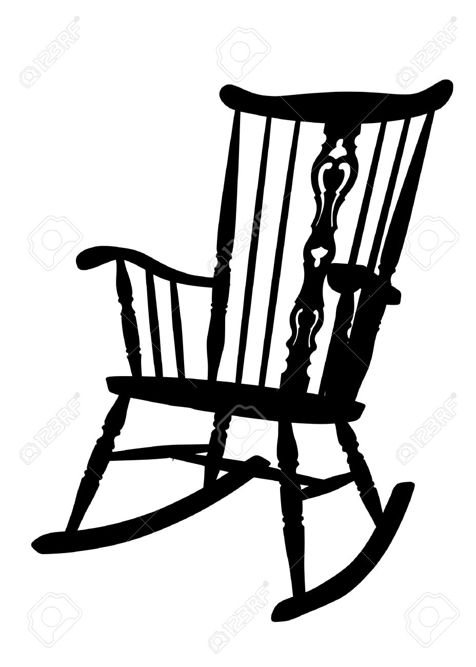 Fine Cartoon Rocking Chair Clipart Free Download Best Cartoon Squirreltailoven Fun Painted Chair Ideas Images Squirreltailovenorg