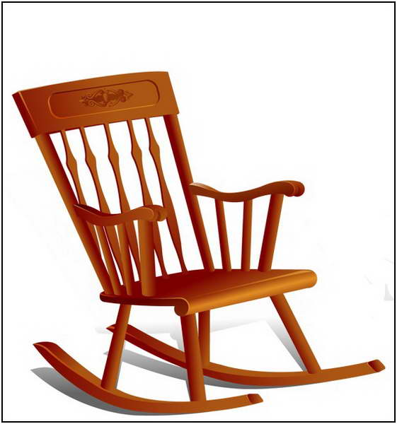 Cartoon Rocking Chair Clipart Free Download Best Cartoon Rocking