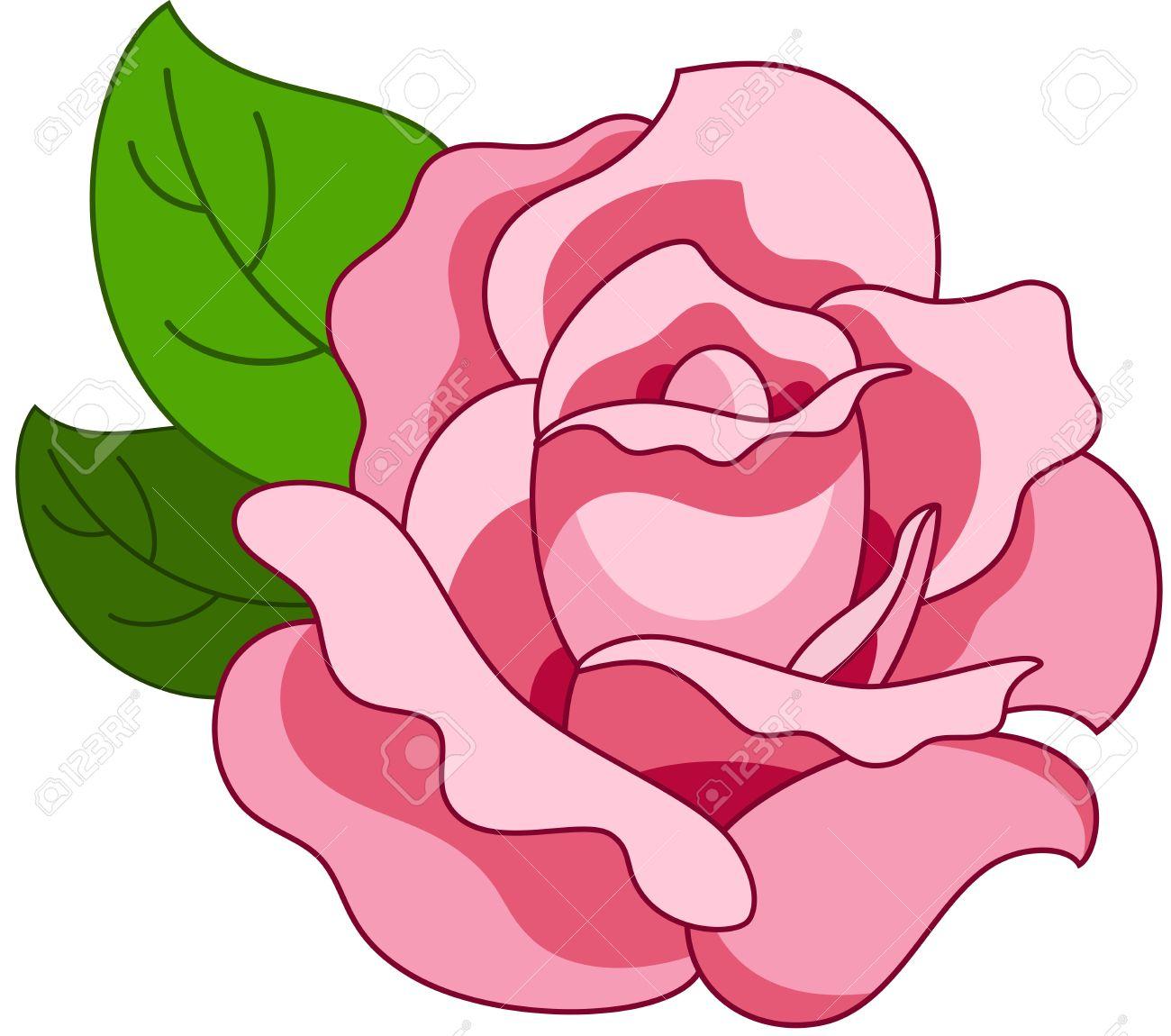 1300x1150 Pink Rose Clipart Beautiful Flower