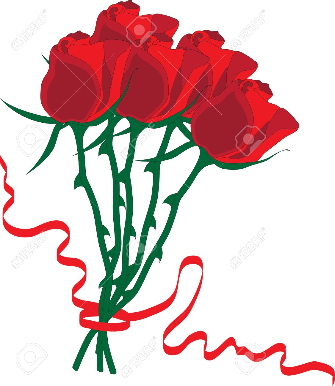 1126x1300 Red Rose Clipart Rose Bouquet