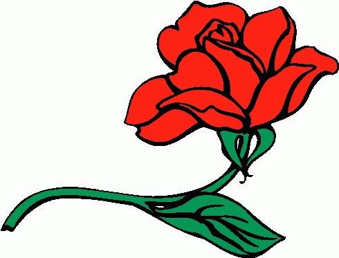 490x373 Rose Clip Art