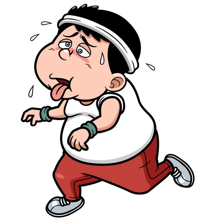 670x715 Tired Clipart Jogger