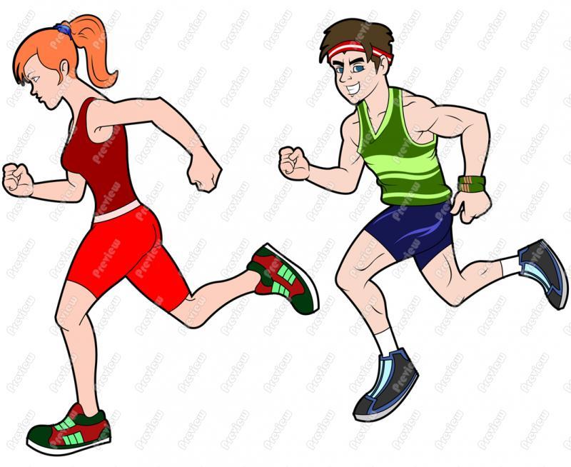 800x654 Cartoon Runner Clip Art Jonniehoffman Superhero Logos