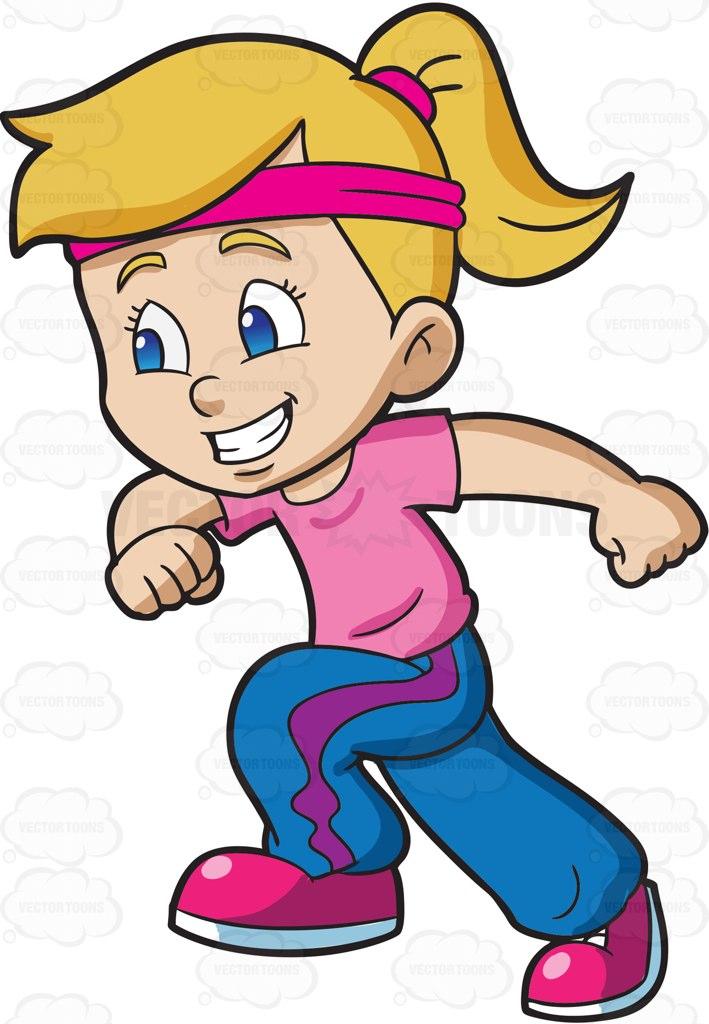 Cartoon Running Clipart