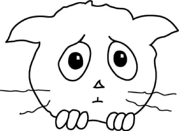 600x441 Free Sad Face Clip Art 5