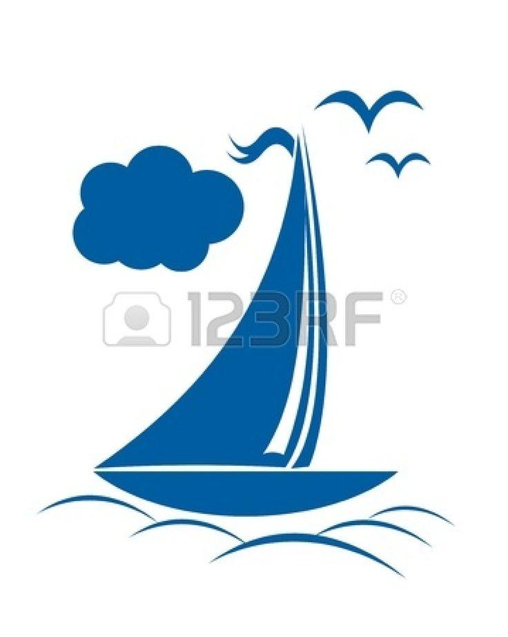Cartoon Sailboats