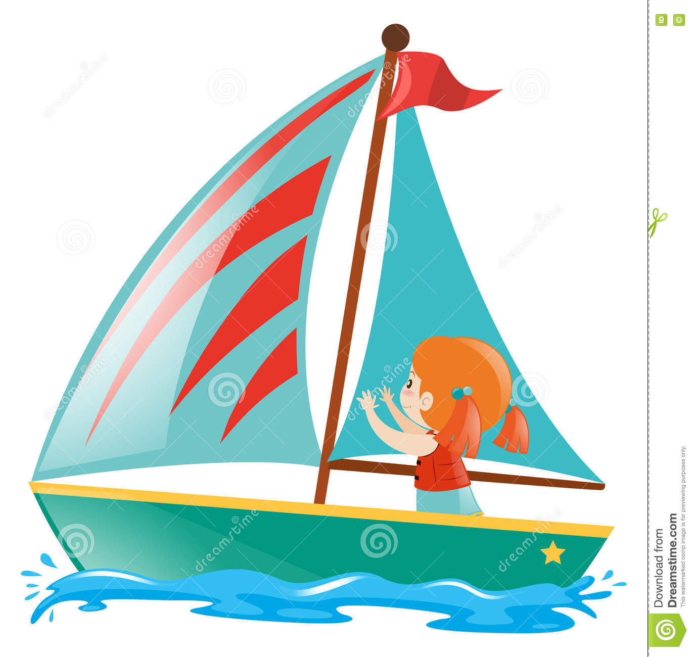Cartoon Sailboats | Free download on ClipArtMag