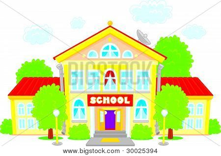 450x318 Place Clipart Elementary School Building