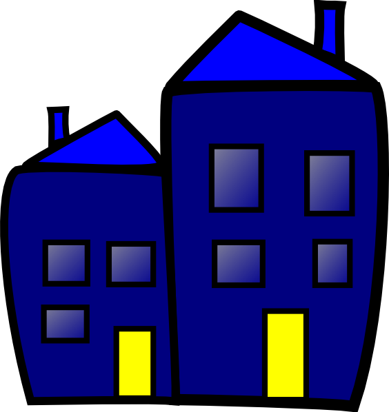 564x598 Building Clip Art