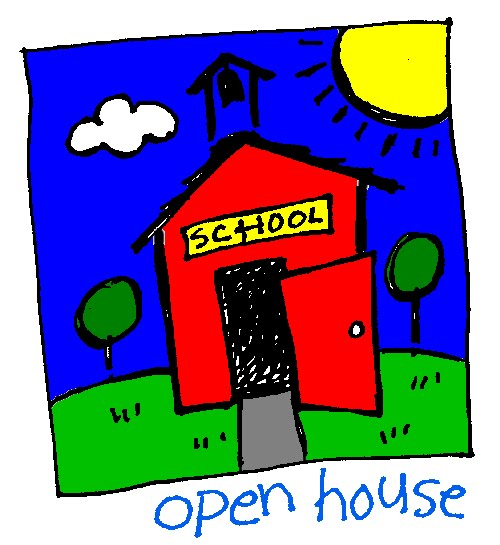 500x545 Bus School Open House Clipart
