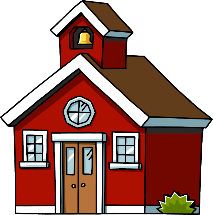 695x700 Cartoon Haunted House Clipart