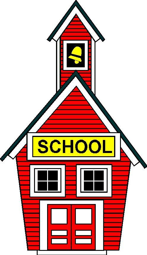 496x860 School House Cartoon