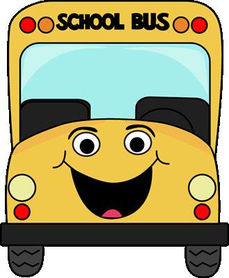 329x400 Cartoon School Bus Clip Art