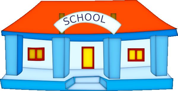 600x307 Clip Art Cartoon School Clipart