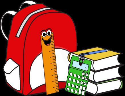 438x335 47 Free School Supplies Clipart