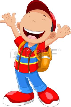 301x450 School Boy Cartoon Walking Royalty Free Cliparts, Vectors,