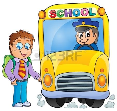 450x426 School Bus Driver Cartoon Royalty Free Cliparts, Vectors,