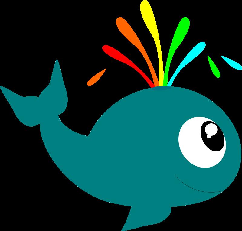 800x764 Whale Sea Creatures Clip Art Image 7