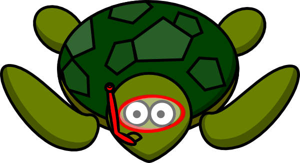 Cartoon Sea Turtle Clipart