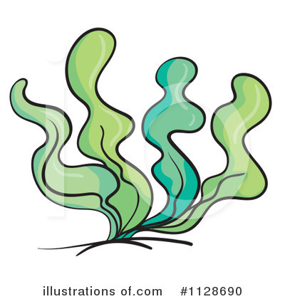 Cartoon Seaweed Clipart
