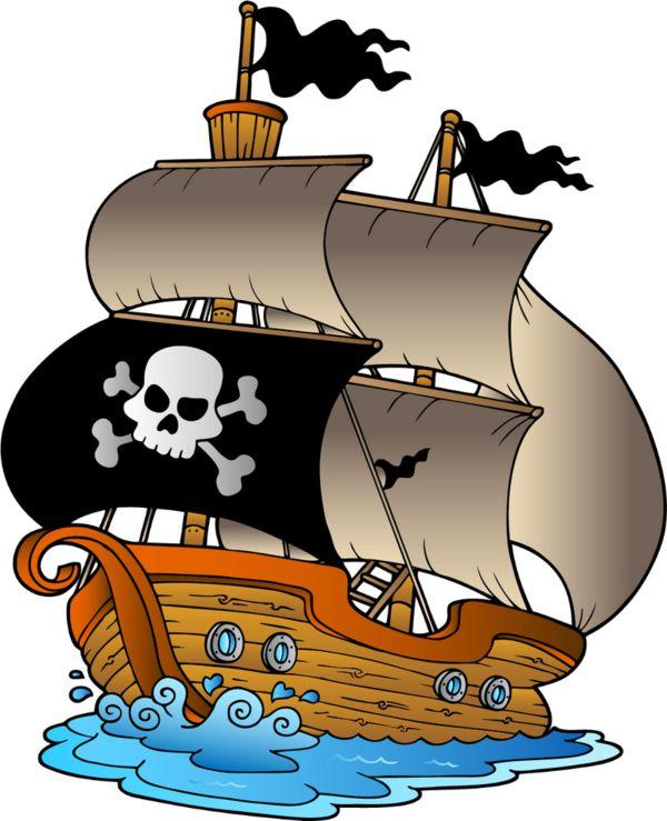 Cartoon Ship Clipart