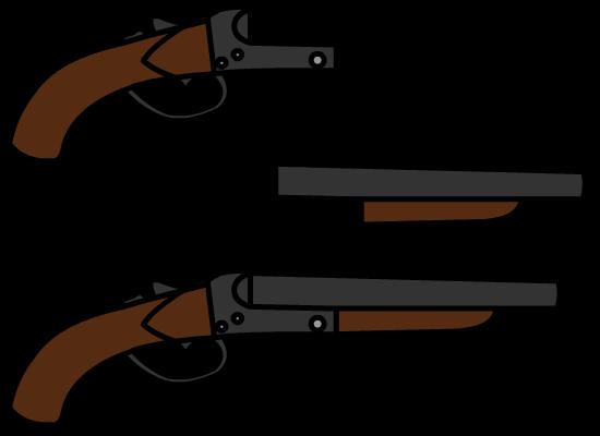 550x400 Custom Walfas Sawn Off Shotgun By Unknownfalling