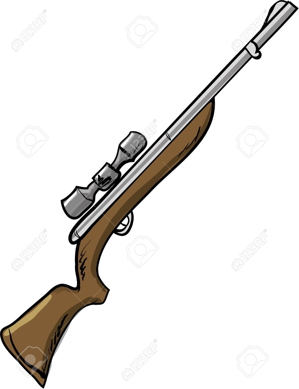 997x1300 Shotgun Clipart Air Rifle