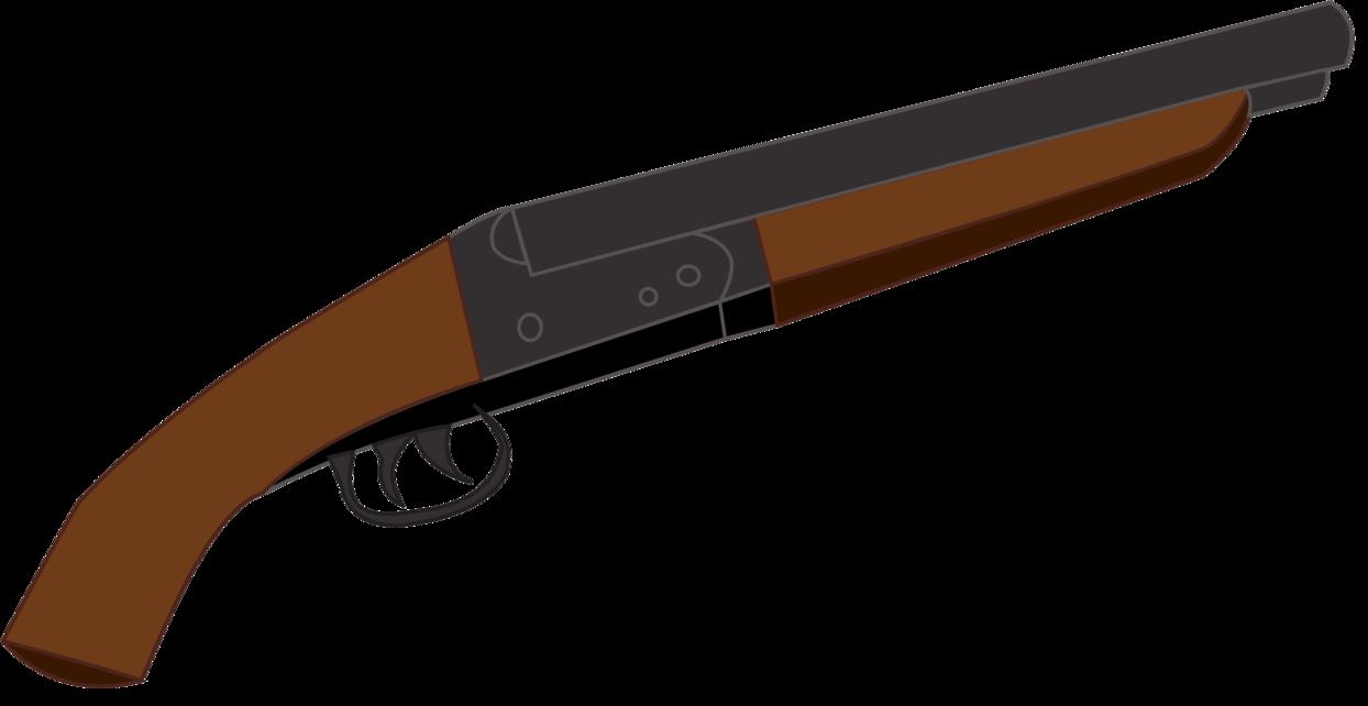 1244x642 Shotgun Clipart Double Barrel Shotgun
