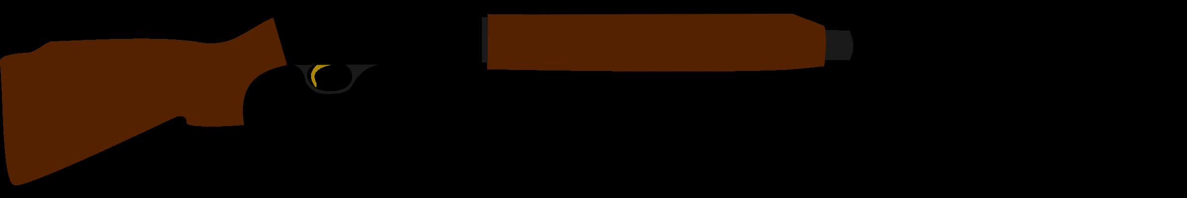 2400x402 Shotgun Clipart Rossi