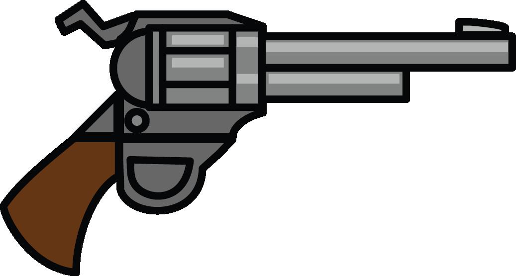 1037x555 Cartoon Pistol
