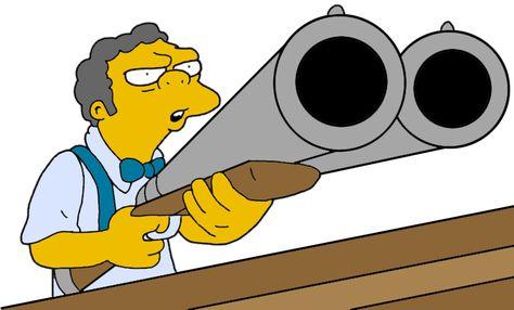 474x286 Moe With His Shotgun