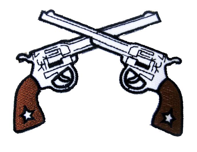 690x533 Crossed Guns Clipart